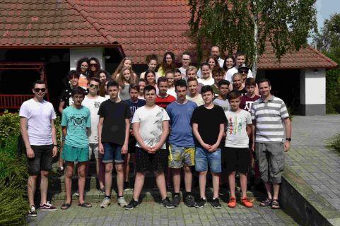 Konfirmált fiatalok kirándulása Beregdarócon