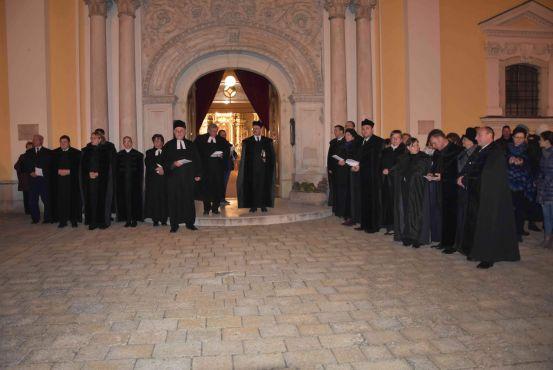 Fáklyás felvonulás a reformáció napján
