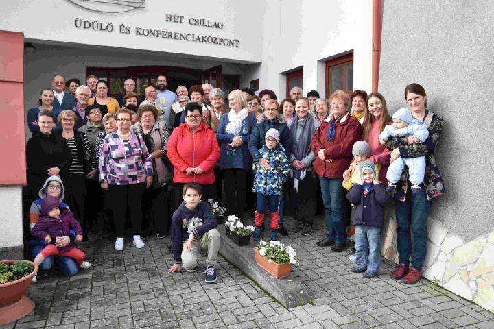 Örökösföldiek gyülekezeti hétvégéje Beregdarócon