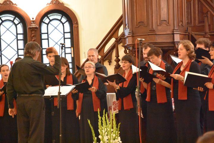 Nyíregyházán koncertezett a Schola Academica