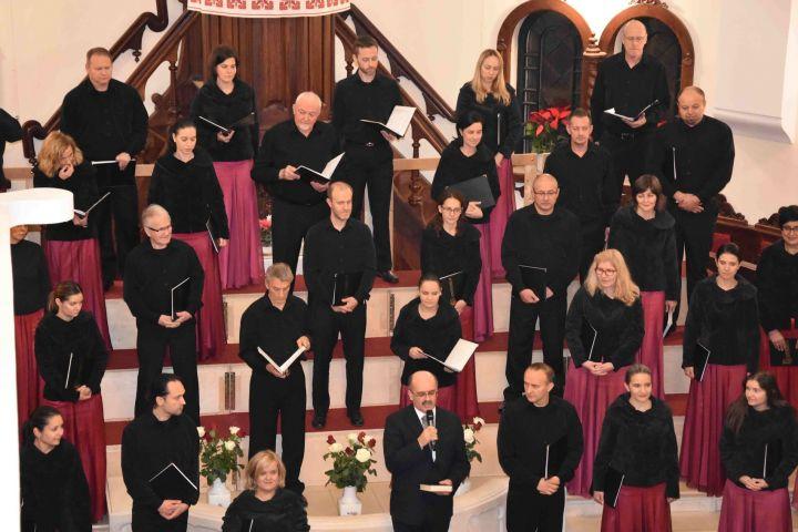 A Nyíregyházi Cantemus Vegyeskar szolgált gyülekezetünkben