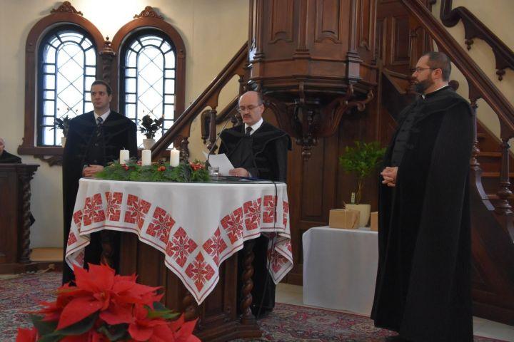 Lelkészbeiktató ünnepi istentisztelet