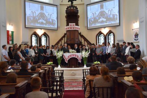 A református iskola pedagógusait köszöntöttük