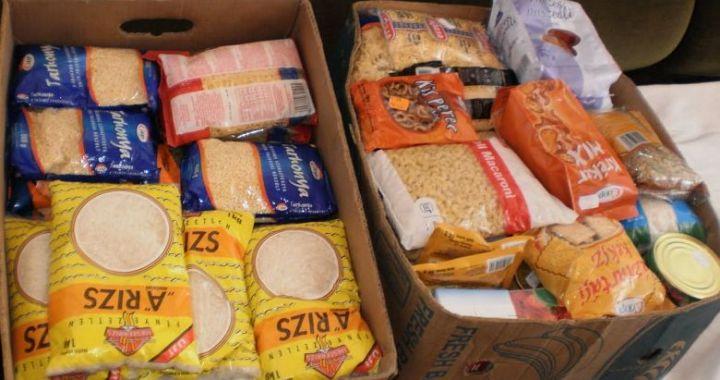 Tartós élelmiszergyűjtés - rászoruló kárpátaljai családoknak