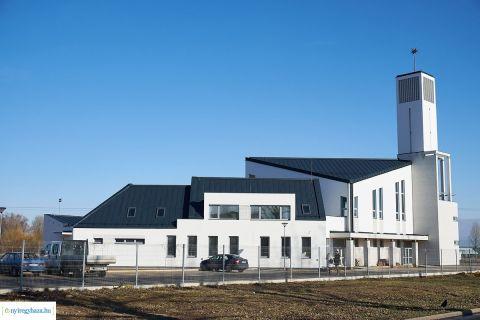 Tavasz végére elkészülhet az Örökösföldi Református Templom