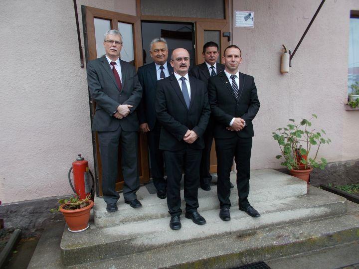 Presbitériumunk küldöttsége Kárpátaljai testvérgyülekezetünkben
